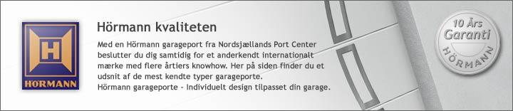 Garageporte fra Hörmann