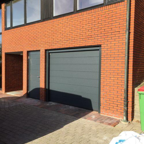 Garageport og garagedør